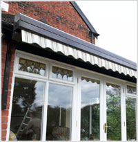 Patio Awnings and Awnings direct from UK Manufacturer